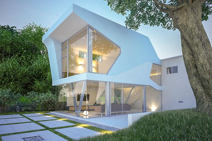 Wizualizacja Architektura Dom