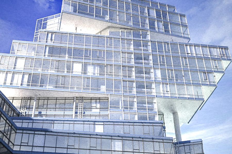 Wizualizacja Architektura Biurowce