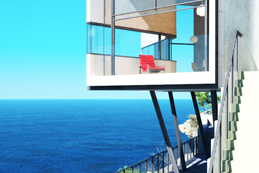 Wizualizacja Architektura Hotel