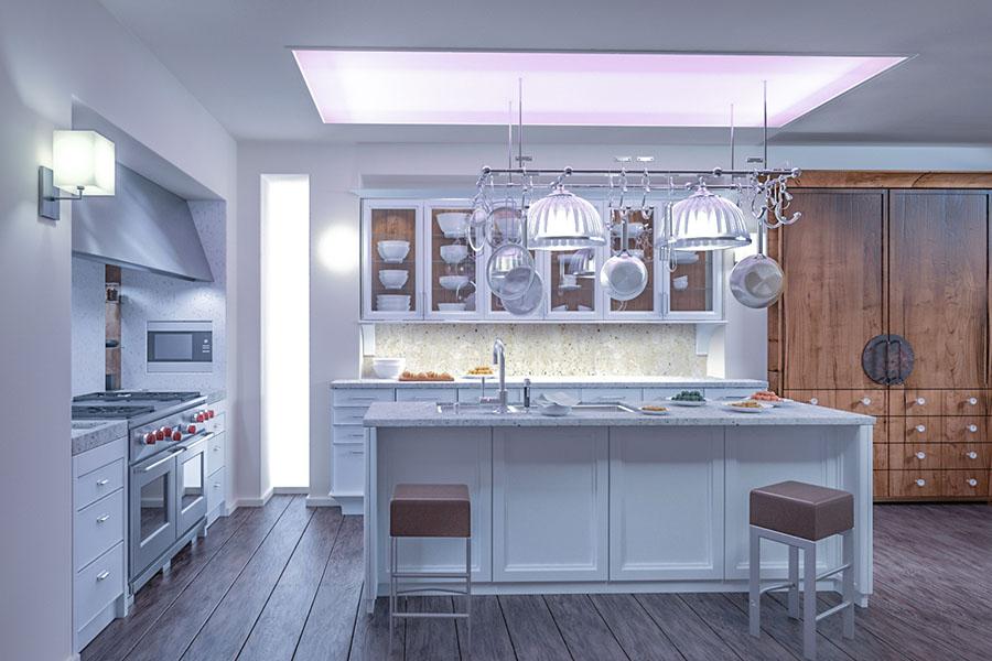 Wizualizacja wnętrza Kuchnia